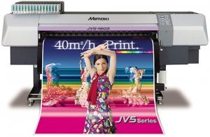 MIMAKI JV5-130S SOLVENT INK JET PRINTER
